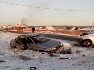 В ДТП в Сосновском районе погибла пассажирка