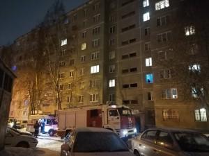 Двое погибли на пожаре в Челябинске в новогоднюю ночь