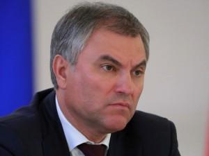 Володин увидел за действиями Навального «следы» иностранных государств