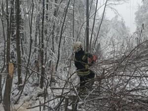 Из-за ледяного дождя режим повышенной готовности ввели в четырех регионах России