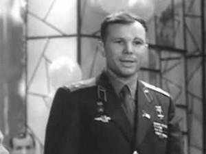 На каком «огоньке» Гагарин снимал кинокамерой
