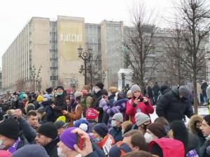 «Изначально было ощущение праздника»: рассказала участница протестной акции 23 января в Москве