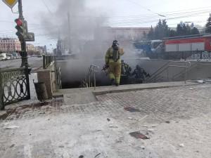 Уголовное дело возбуждено после взрыва в подземном переходе в Челябинске