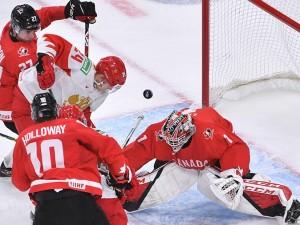 Сборная России проиграла канадцам в матче молодежного чемпионата мира по хоккею