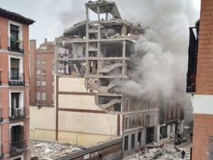 Мощный взрыв случился в центре Мадрида