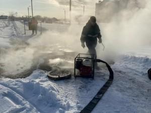 Отопление отключили в Чурилово из-за коммунальной аварии