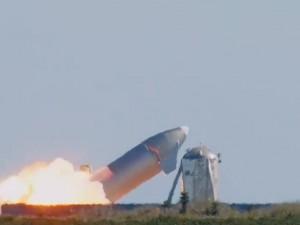Взрывом завершилось очередное испытание прототипаStarshipотSpaceX