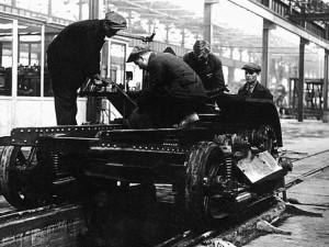 Как начиналась «трудовая доблесть» будущего Танкограда