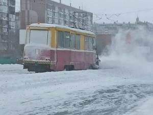 В Челябинске запустили три пробных рейса трамваев