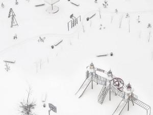 Москва тонет в снегу