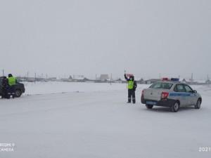 Ограничено движение грузовиков на участке трассы М-5 в Челябинской области