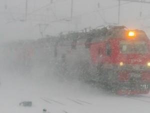 Небывалый транспортный коллапс в Челябинской области вызвала снежная буря