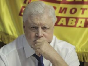 Лидер фракции «СР» Миронов заявил, что против работы до гробовой доски