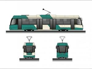 Зачем в Челябинске перекрашивают трамваи