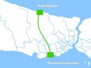 «Канал Стамбул» соединит Черное и Мраморное моря