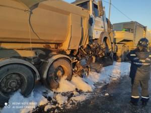 39-летний водитель KIA погиб в жестком ДТП в Челябинской области