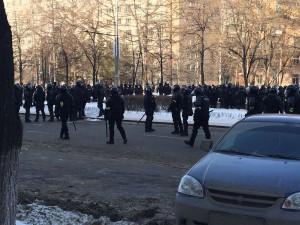 На каком основании полиция вынесла предупреждение челябинской журналистке, освещавшей акции протеста?