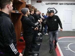 Губернатор Челябинской области пожелал хоккеистам «Трактора» победы в Кубке Гагарина. И первый шаг уже сделан
