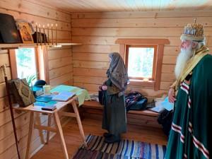 Знаменитая сибирская отшельница Агафья Лыкова поселилась в построенном Олегом Дерипаской новом доме