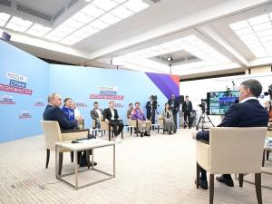 Челябинский главврач попросил у Путина в наставники Татьяну Голикову