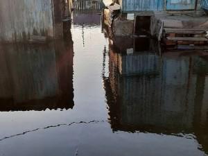 Третьи сутки топит поселок Горняк в Копейске