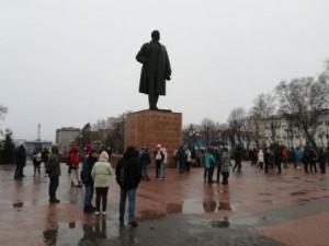 Акции протеста в поддержку Навального на Дальнем Востоке начались одновременно с посланием Путина