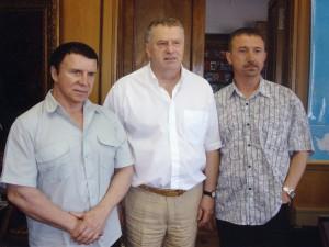 Встреча с Жириновским. История одной фотографии