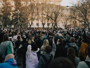 Задержаний на несогласованном митинге в Челябинске было немного