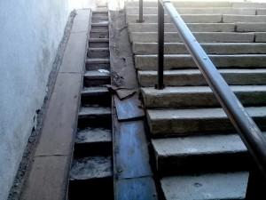 Странные «виражи» ремонта подземного перехода в Челябинске