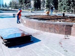 Музыкальный фонтан в Челябинске начнет работать 1 мая