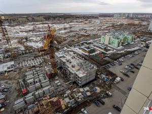 Против строительства 22-этажного дома выступили жильцы «Академ Riverside»