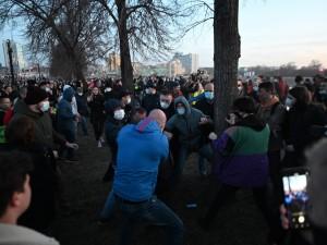 459 человек задержали на акциях протеста движения Навального по всей России