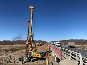 Капитальный ремонт моста через реку Синара начали на трассе М-5