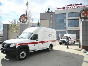 Новые автомобили скорой помощи приобрёл для Челябинской области Благотворительный фонд РМК